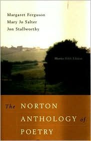 The Norton Anthology of Poetry 5th (Fifth) Edition Text Only