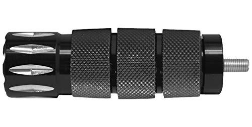 Avon Grips Black Anodized Air Cushion Rival Shifter Peg SP-AIR-90-AN-RIV