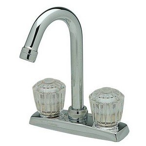 Elkay LKA2475 Dual Handle Standard Bar Faucet, Chrome - Elkay Bar Faucet