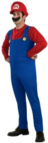 [Rubies Nintendo Super Mario Brothers Halloween Adult Costume | Large] (Nintendo Costumes For Adults)
