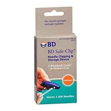 BD Safe-Clip Needle Clipping & Storage Device 1 EA - Buy Packs and SAVE (Pack of 2)