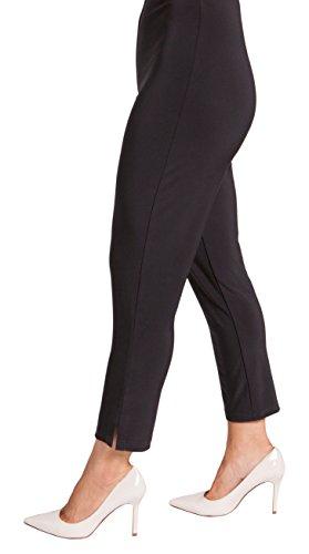 Sympli Womens Narrow Short Ankle Pants 26'' Inseam Size 18 Black by Sympli