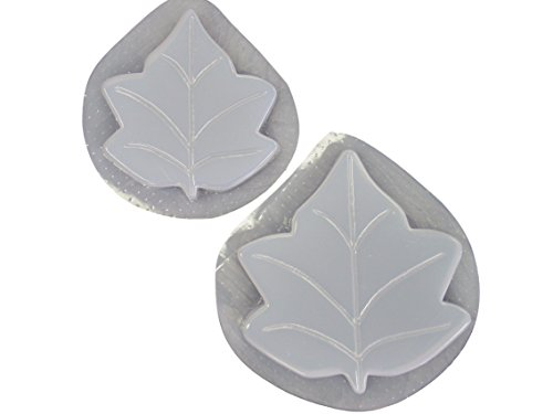 Ivy Leaf Stepping Stone Concrete Plaster Mold Set 1052
