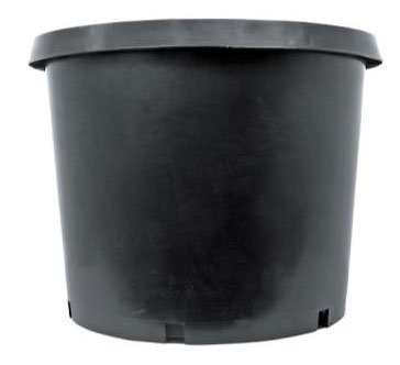 Pot, Round, Nursery, 1 Gallon, Black Plastic , One Dozen Review