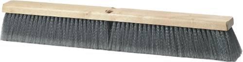 Renown REN03980 Grey Fine Sweep Broom, 36' Flagged Polypropylene with 3' Trim 36 Flagged Polypropylene with 3 Trim GID-REN03980