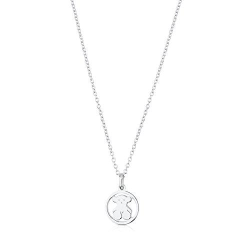 TOUS Camille 925 Silver Pendant Necklaces ()