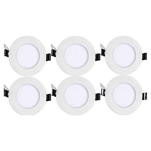 (Topaz Lighting (Pack of 6) 77247 12W Slim 6