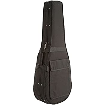 d 39 luca sf41 full size 41 inch acoustic guitar lightweight foam case musical instruments. Black Bedroom Furniture Sets. Home Design Ideas