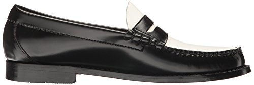 Penny G amp; White Men's Larson Loafer Bass Black H Co cr7qwBYrE