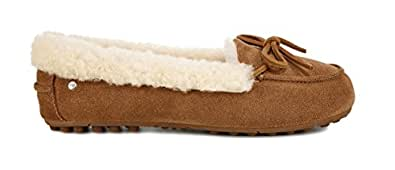 UGG Women's W Solana Loafer Sneaker, Chestnut, 9 M US