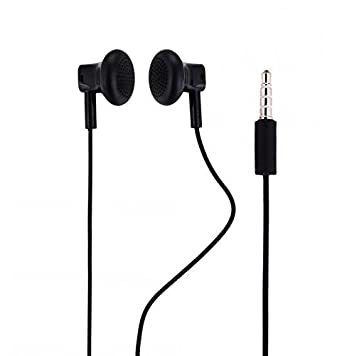 642bd903858 Original Nokia WH-108 Headset in Black for Microsoft Lumia 640 Dual Sim  Moulded Ear Plugs 3.5 mm connection: Amazon.co.uk: Electronics