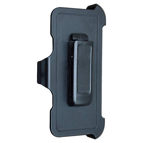 New Black Rotating Swivel Belt Clip Holster Replacement for iPhone XR Otterbox Defender Case with Kickstand