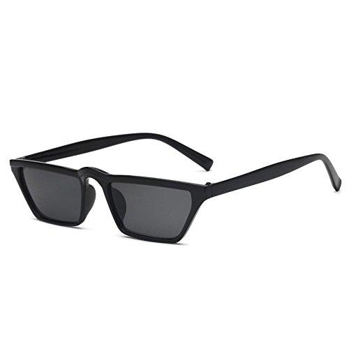 G los de Aoligei de sol hombres pequeño gafas cejas ojo Europa de Retro las y Estados Unidos sol gato de gafas marco de de gafas xr0waSX0q6