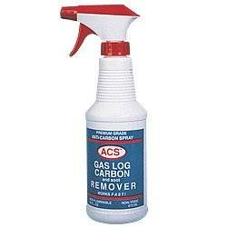 Gas Log Cleaner - ACS Gas Log Cleaner Removes Carbon and Soot From Fireplace Gas Logs | 1 Pint - 16oz. Spray Bottle