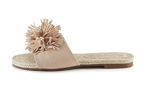 Tassel You Sandal Slide Pretty Nude Detail gSw7x