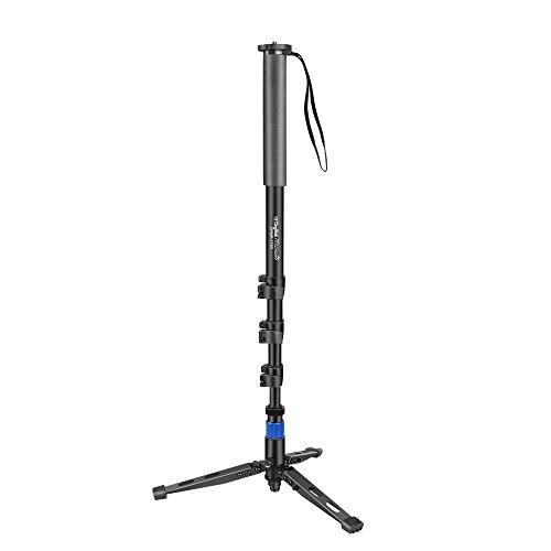 DIGITEK® DPMP 172B Professional Monopod With Tripod Support Base   Ultra Portable & Heavy Duty Design   For DSLR & Video Cameras  Maximum Operating Height: 5.57 Feet  Maximum Load Upto: 10 kgs (Black) (DPMP 172B)