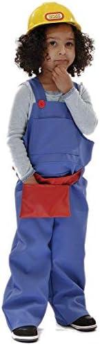 Builder - Disfraz de obrero para niño, talla 5-7 años ...