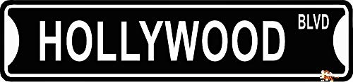 Yilooom Hollywood BLVD Street Sign 4