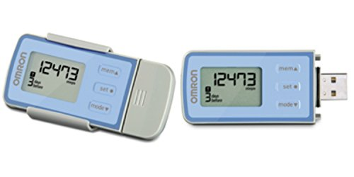 New Omron Hj322u Tri Axis Activity Pedometer Hj-322u USB Download 22 Day Memory Fast Shipping Ship Worldwide