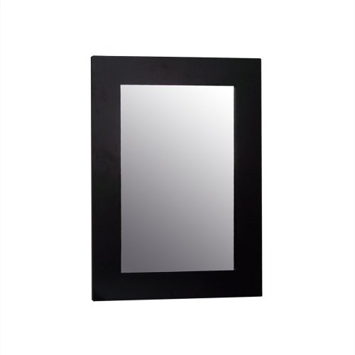 Elegant Home Fashions Chatham Collection Framed Beveled-Edge Glass Mirror, Dark Espresso (Dark Wood Framed Mirror compare prices)