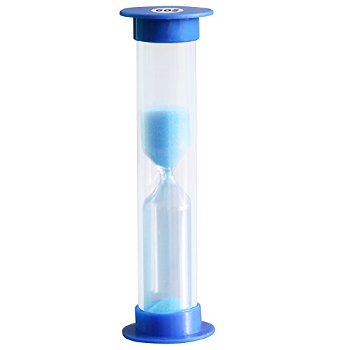 (TRIXES 60 Seconds Blue Sand Timer Egg Timer Teeth Brushing Timer)