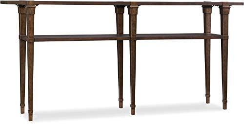 Hooker Furniture Skinny Console Table in Dark Wood