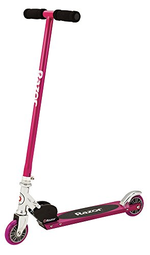 Girls Razor Scooter S - Razor Kick Scooter Pink with Light-up Wheels