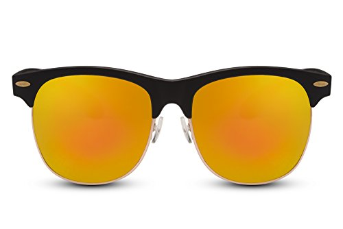 Rétro Hommes 023 Ca Femmes Miroitant Cheapass Noir Sunglasses Clubmaster XUqnt4