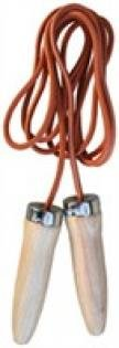 Jump Rope (All Sports: Football, Basketball, Volleyball, Soccer, Etc) (Leather Cord, 8 1/2 ft)