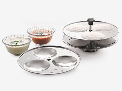 idli cooker without plates - 3