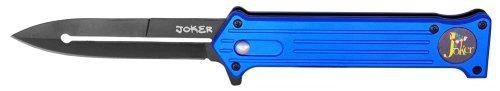 "3.5"" Joker Spring Assisted Folding Knife - Blue"