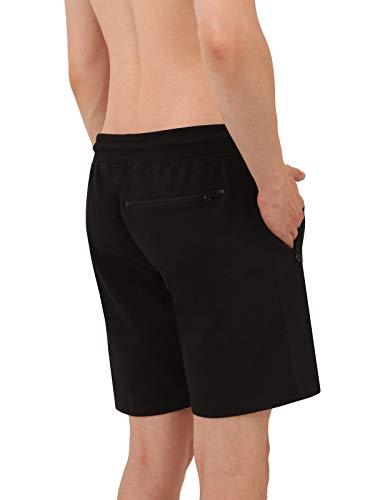 jogging In © pantaloni Nero Lunghi Da Svizzero Uomo Cotone Liam Bermuda 100 Fino Monte 6xl A Pantaloncini Sportivi f6Pw7qWF