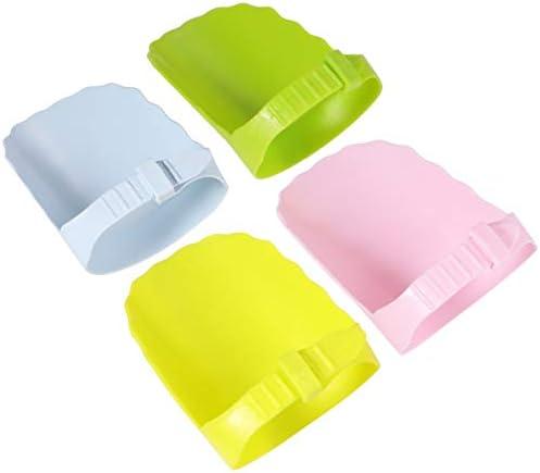 EXCEART 4 Stks Kinderen Kraan Extenders Verstelbare Plastic Kraan Uitloop Wastafel Handvat Extender Cover Voor Baby Peuters Kids Hand Wassen 4 Kleuren