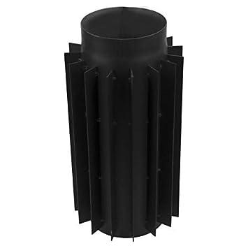Abgaswärmetauscher 200 mm Länge 50 cm Warmlufttauscher Rauchgaskühler