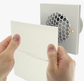 bew/ährte Technik nicht nur leise sondern still neues Design Abluftventilator Quiet Style