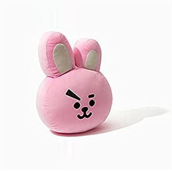 DSSY BTS BT21 Doll Pillow Small Plush Puppets Toy Bangtan Boys Throw Pillow A.R.M.Y Home Decor (COOKY)