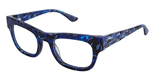 gx by GWEN STEFANI Women's GX 023 Navy 50mm Eyeglasses, Size 50-22-135 (023 Eyeglasses)