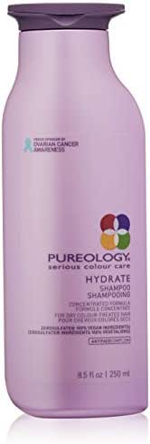 Pureology   Hydrate Moisturizing Shampoo   For Medium to Thick Dry, Color Treated Hair  Sulfate-Free   Vegan   8.5 oz.