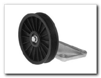 (Motormite A/C Compressor Bypass Pulley for 2001-90 Ford Trucks, 1997-94 Mazda Truck (34185))