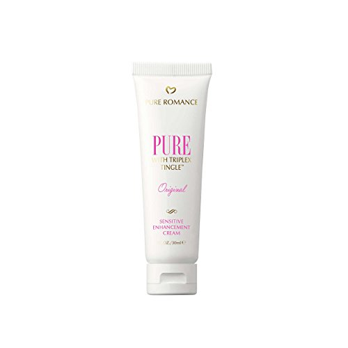 Pure Romance Pure Original Sensitive Enhancement Cream for Women with Triplex Tingle | 30mL (Cream Enhancement Sexual Female)