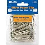 DDI - BAZIC Large (50mm) Metal Paper Clip (1 pack of 72 items)