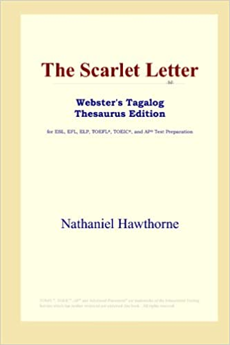 The Scarlet Letter Webster S Tagalog Thesaurus Edition Nathaniel