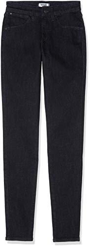 Wrangler Skinny Donna Jeans rinse Nero 32r Black rqBrv