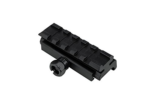 Monstrum Picatinny Riser Mount for Red Dots and Optics | 2.5 inch L | Low -