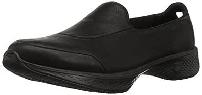 Skechers GO WALK 4 - DESIRED Women's  Walking Shoe, Black/Black, 10 US