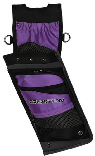 (Easton Deluxe Field Quiver w/Belt RH Purple)