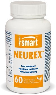 Supersmart MrSmart - Neuro Nutrition - Neurex - A Powerful, synergistic Formulation to Help Prevent or delay Cerebral Degeneration. 60 Capsules.