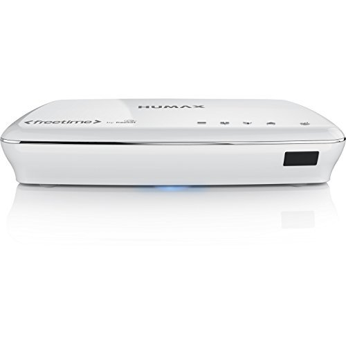 Humax HDR-1100S 500 GB Freesat with Freetime HD TV Recorder - White
