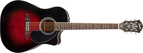 Violao Fender Wayne Kramer Royal Tone Dreadnought Ce Vintage Sunburst
