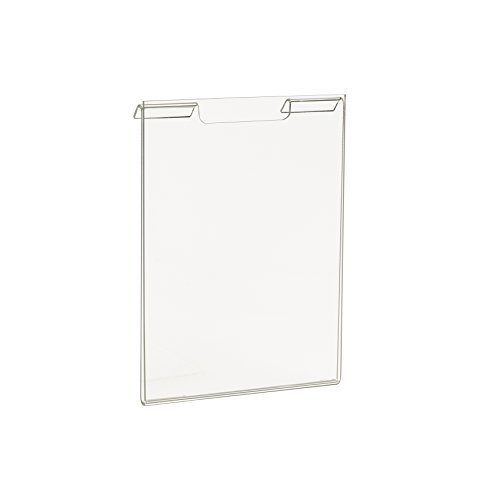 Econoco Comerical Slatwall/Gridwall, Acrylic Vertical, 5-1/2